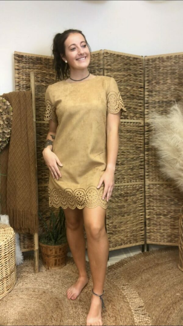 Camel Hem Dress