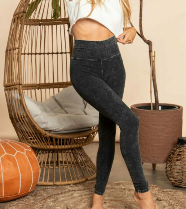 Mineral Dyed Yoga Leggings (More Colors)