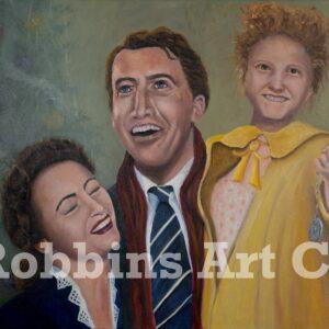 Wonderful Life Oil Painting by Chris Robbins