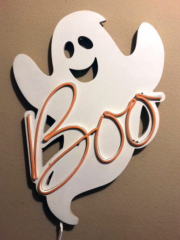LED Neon Ghost Decoration